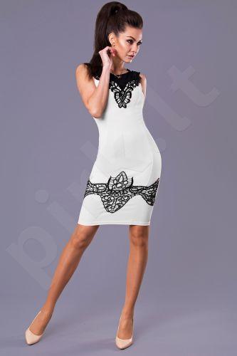 Emamoda suknelė -balta 8102-3