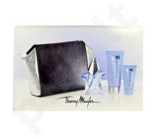 Thierry Mugler Angelis rinkinys moterims, (EDP 25ml + 100ml kūno pienelis + 30ml dušo želė + kosmetika krepšys)