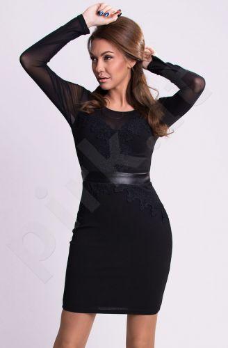 Emamoda suknelė - juoda 9902-1