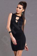 EMAMODA Suknelė - juodos spalvos 5805-4