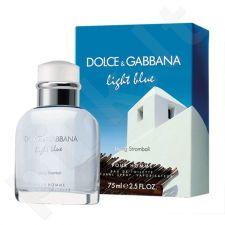 Dolce & Gabbana Light Blue Living Stromboli, tualetinis vanduo (EDT) vyrams, 75 ml