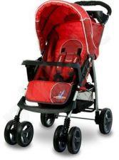 Caretero MONACO vežimėlis raudonas