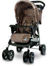 Caretero MONACO vežimėlis rudas